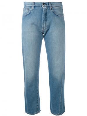 Укороченные джинсы Original Toteme. Цвет: синий