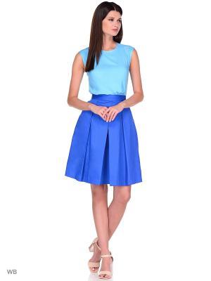 Блузка APRELLE. Цвет: голубой