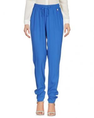 Повседневные брюки FLY GIRL. Цвет: синий