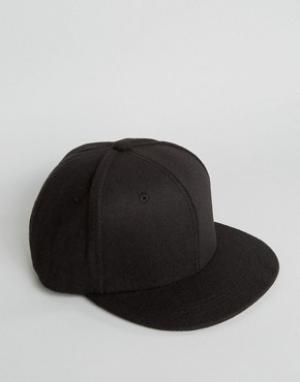 7X Фетровая черная бейсболка. Цвет: бежевый