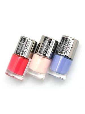 Промо-набор POETEQ. Цвет: коралловый, бежевый, голубой