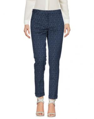 Повседневные брюки I BLUES. Цвет: синий