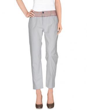 Повседневные брюки NOLITA. Цвет: небесно-голубой