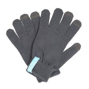 Перчатки  Touch Gloves Dark Grey TrueSpin. Цвет: серый