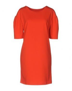Короткое платье LOU LONDON. Цвет: красный