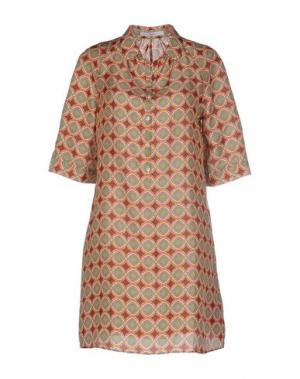 Короткое платье INGRAM. Цвет: оранжевый