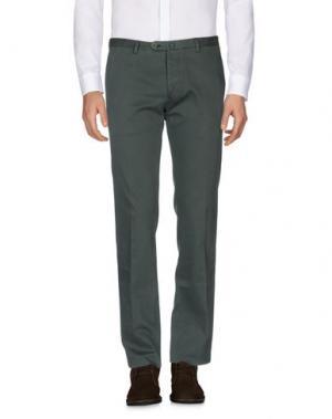 Повседневные брюки CANTARELLI. Цвет: зеленый