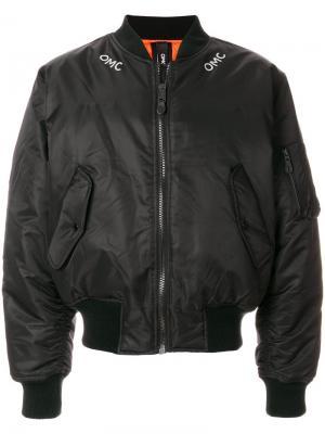Куртка-бомбер  Fire Omc. Цвет: чёрный