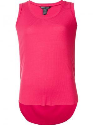 Майка Soul Thomas Wylde. Цвет: розовый и фиолетовый