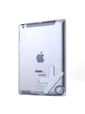 Чехол-панель для iPad2 с кольцом-держателем Belsis. Цвет: молочный, прозрачный