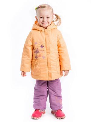 Комплектилона Аксарт. Цвет: фиолетовый, персиковый
