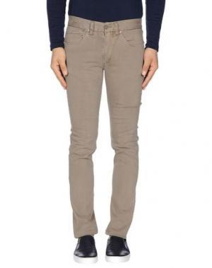 Повседневные брюки MAESTRAMI. Цвет: хаки