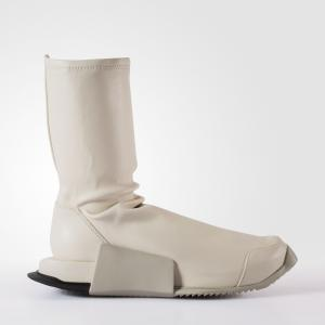Ботинки Rick Owens Level Runner High  Originals adidas. Цвет: черный