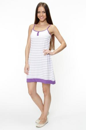 Платье пляжное MARC&ANDRE. Цвет: белый