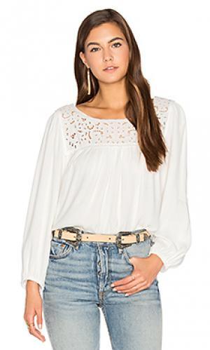 Блузка sagrada Joie. Цвет: белый