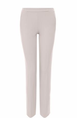 Укороченные зауженные брюки BOSS. Цвет: бежевый