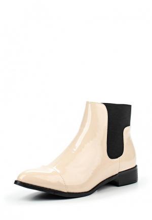 Ботинки Max Shoes. Цвет: бежевый