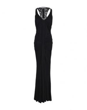 Длинное платье ZINAS. Цвет: черный