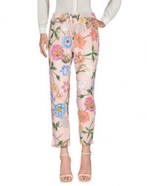 Повседневные брюки 19.70 NINETEEN SEVENTY. Цвет: розовый