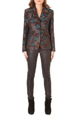 BLAZER Faust. Цвет: brown and turquoise
