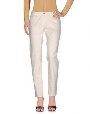 Повседневные брюки 19.70 NINETEEN SEVENTY. Цвет: слоновая кость