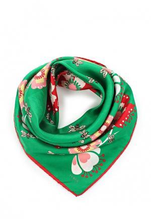 Платок Furla. Цвет: зеленый