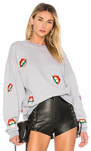 Пуловер babbs Lauren Moshi. Цвет: серый