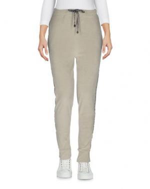 Повседневные брюки MARVELOUS EXPERIENCE. Цвет: светло-серый