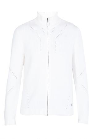 Кардиган Versace Collection. Цвет: белый