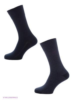 Носки 2 пары Levi's®. Цвет: темно-синий