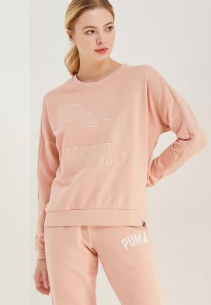 Свитшот PUMA. Цвет: розовый