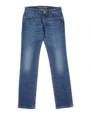 Джинсовые брюки SIMONETTA JEANS. Цвет: синий