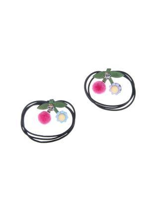 Резинка(2 шт) Bizon. Цвет: розовый