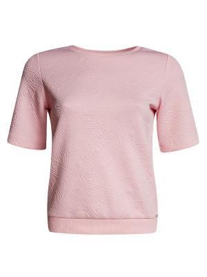 Джемпер Oodji. Цвет: розовый