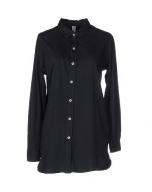 Pубашка AUTHENTIC ORIGINAL VINTAGE STYLE. Цвет: темно-синий