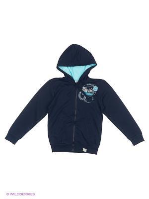 Куртка Cherubino. Цвет: темно-синий