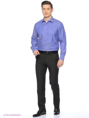 Рубашка Maestro. Цвет: синий