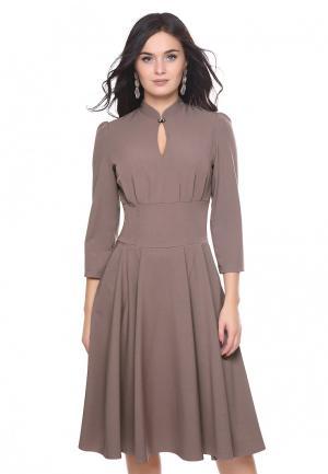 Платье Grey Cat. Цвет: бежевый