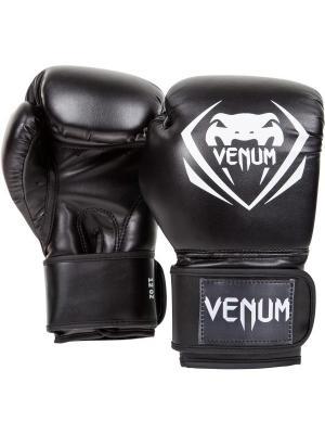 Перчатки боксерские Venum Contender - Black. Цвет: черный