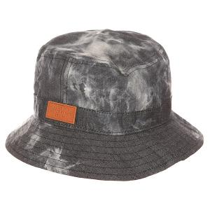 Панама  Walsh Bucket Hat Acid Black Globe. Цвет: серый