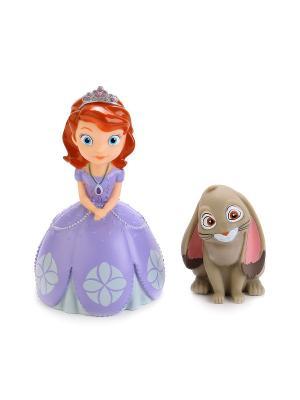Набор из 2-х игрушек для купания Disney  София в сетке. Играем вместе. Цвет: фиолетовый, серый
