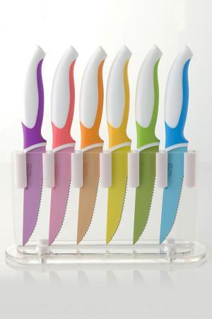 Набор ножей для бифштекса Brandani. Цвет: мультиколор