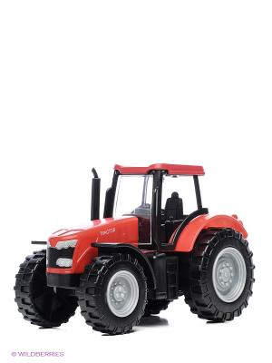 Красный трактор серия Roadsterz HTI. Цвет: красный
