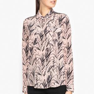 Рубашка из шелка с принтом THE KOOPLES. Цвет: розовый
