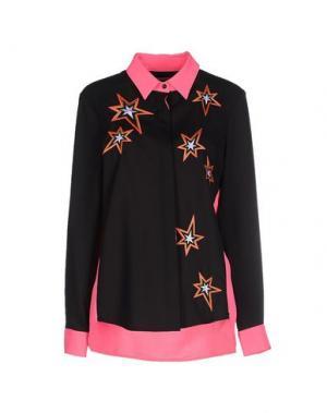 Pубашка EMMA COOK. Цвет: черный