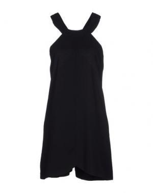 Короткое платье CAMEO. Цвет: черный