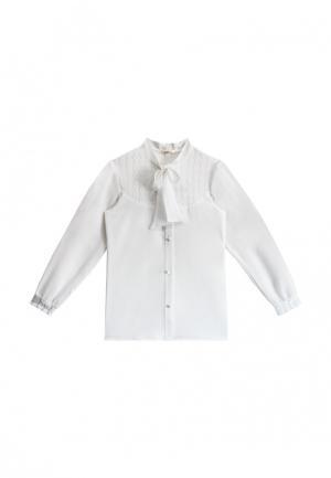 Блуза AnyKids. Цвет: белый