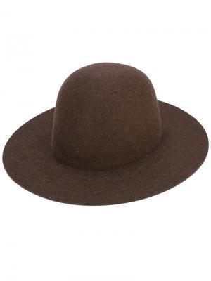 Шляпа Sesam Études. Цвет: коричневый