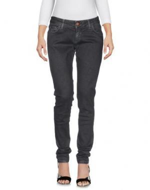Джинсовые брюки DERRIÉRE. Цвет: стальной серый