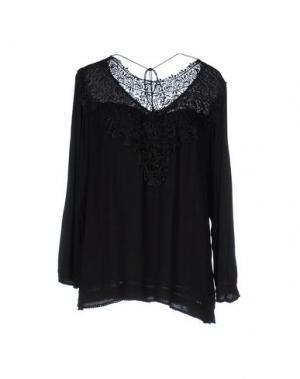 Блузка SOALLURE. Цвет: черный